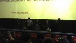 Kauwela-Flashmob im Kino Bruchsal