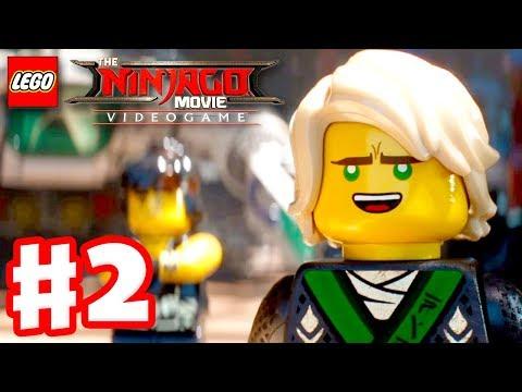 The LEGO Ninjago Movie Videogame - Gameplay Walkthrough Part 2 - Ninjago City Beach!