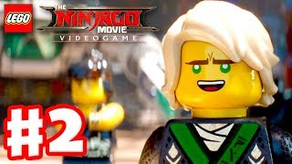 The LEGO Ninjago Movie Videogame - Gameplay Walkthrough Part 2 - Ninjago City Beach!
