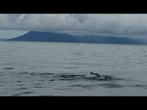open water swimming training @ mabua beach surigao city