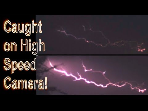 Download Youtube: Lightning caught by High Speed Camera!!!