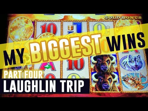 My BIGGEST Wins In Laughlin!