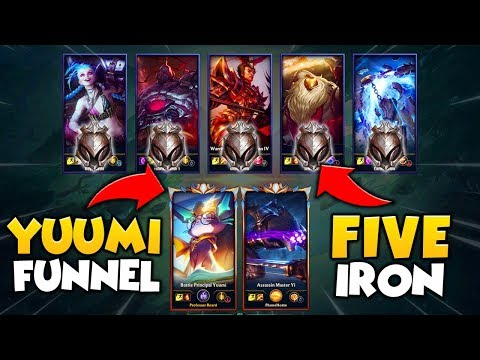 2 PRO PLAYERS VS. 5 IRON PLAYERS (2V5) FT. BUNNYFUFUU - League Of Legends