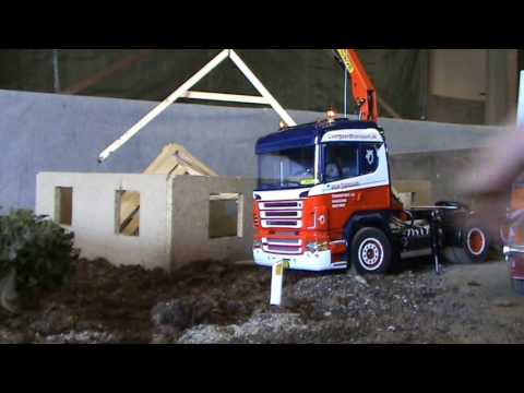 Rc Truck (Truck meeting 03-09-2011 House building)