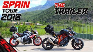 Spanish Tour 2018 Trailer - Superduke VS Tuono