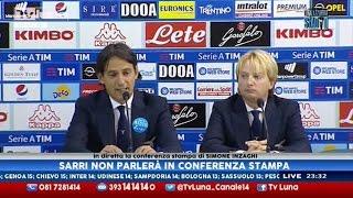 Interviste Napoli-Lazio 1-1: Inzaghi ed Hamsik - 12a Serie A 05/11/16