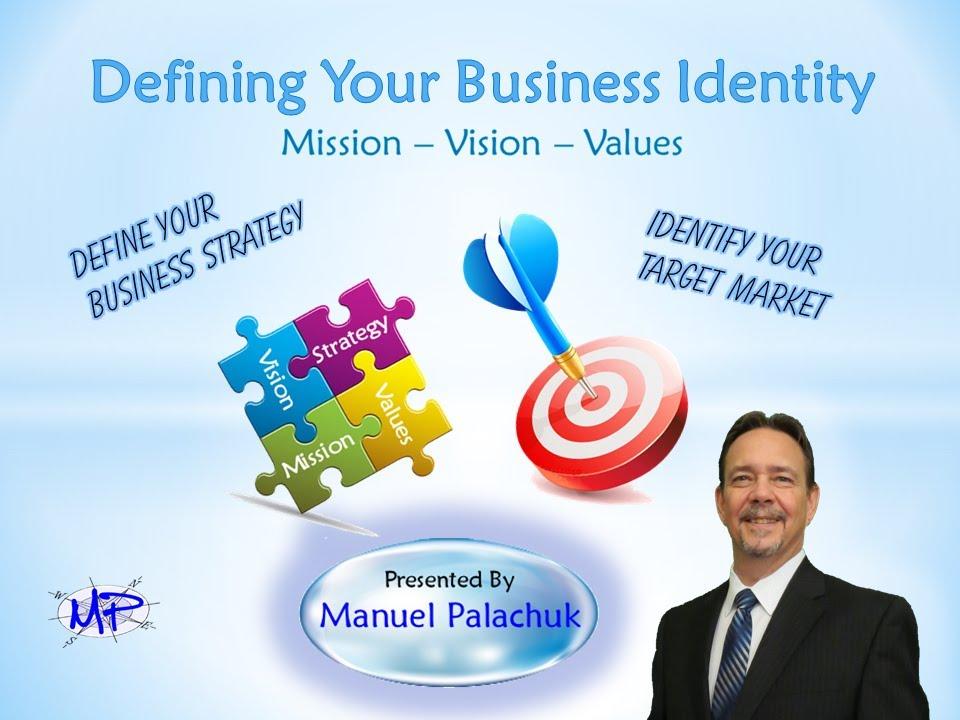 Defining Your Identity