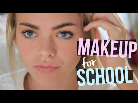 HIGH SCHOOL MAKEUP TUTORIAL|| everyday makeup routine