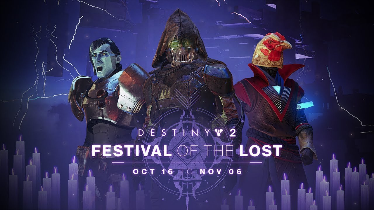 Destiny 2 Update Includes Festival of the Lost Halloween
