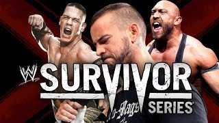 WWE Survivor Series 2012 ► John Cena vs CM Punk vs Ryback [OFFICIAL PROMO HD]