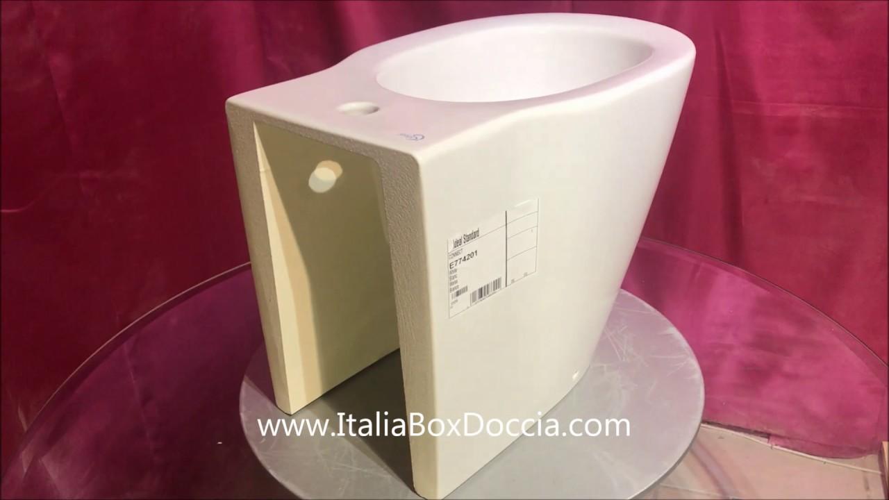 Vasca Da Bagno Connect.Vaso E Bidet Connect Ideal Standard Filo Parete Con Coprivaso
