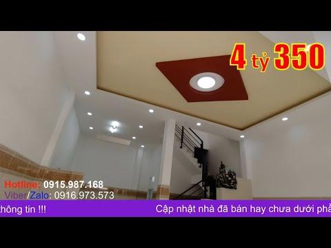 Video nhà bán hẻm xe hơi quận Bình Tân. Nhà 1 lầu đúc thật rộng rãi 6,3x9m