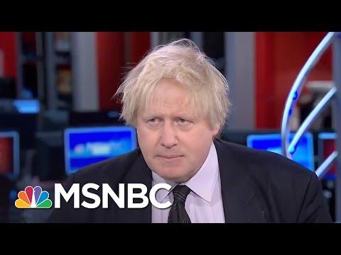 Boris Johnson: Parliament Attacker's Values Will Not Prevail (Exclusive) | Morning Joe | MSNBC