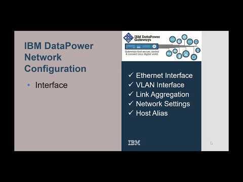 DataPower Network Interface Config