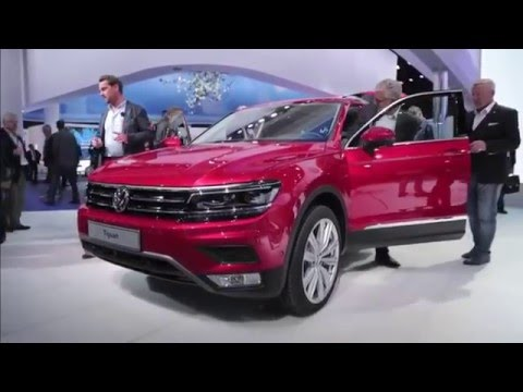 2017 Volkswagen Tiguan Interior And Exterior Review - Car And Driver
