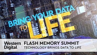 Flash Memory Summit | Technology Brings Your Data to Life