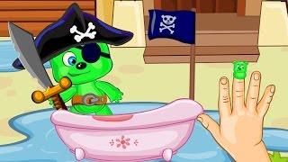 Мультфильмы для детей Дождь Радуга и Веселые семейные игры во дворе Мультик детям