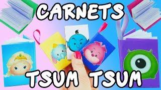 MINI CARNETS TSUM TSUM DIY (TRES FACILE)