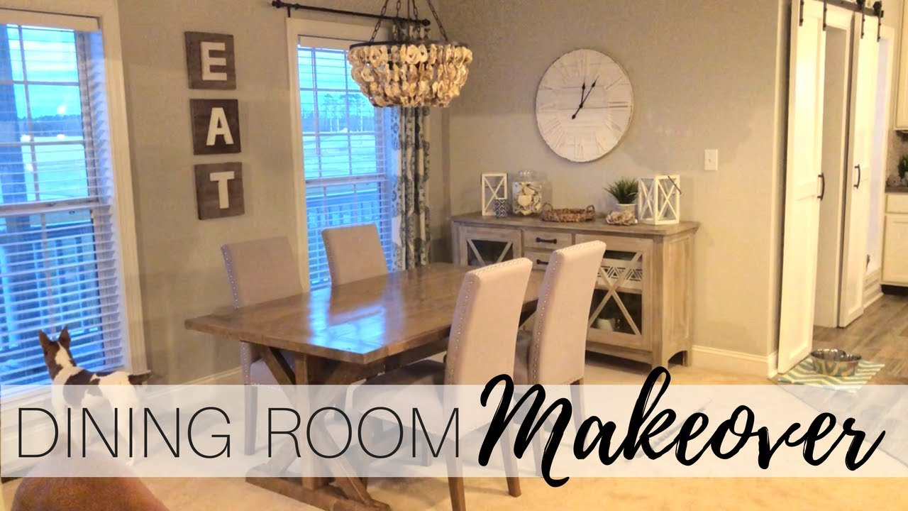 Entire Dining Room Makeover