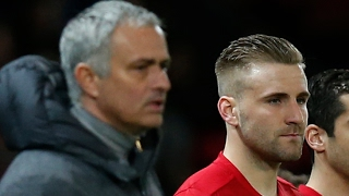 José Mourinho criticises Luke Shaw after Manchester United draw with Everton – video