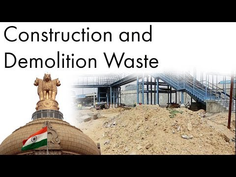 Construction & Demolition Waste Management, Supreme Court stops constructions, Current Affairs 2018