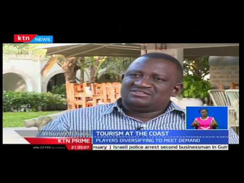 KTN Prime: Booming state of tourism at the Kenya Coastal shores, 20/12/16