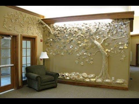 Украшение стен вашего дома барельефными изображениями