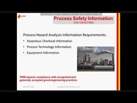 Process Hazard Analysis - HAZOP