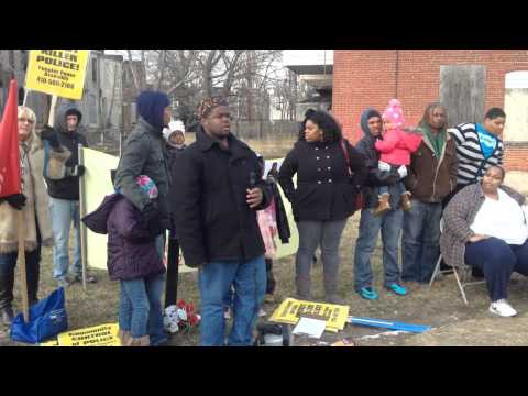 The Anthony Anderson Sr. Protest - Part I (2013)