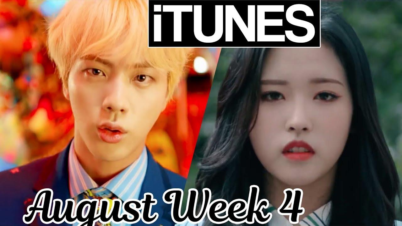 Top 30 Us Itunes Kpop Chart 2018 August Week 4