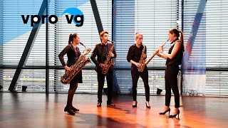 Ebonit Saxophone Quartet - D. Shostakovich/ from: Stringquartet no. 7 opus 108