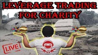 Bitcoin Leverage Trading For Charity - Carebit - Guatemala Volcano Fund