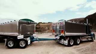 Freightliner Coronado 114 - Tipper and Dog