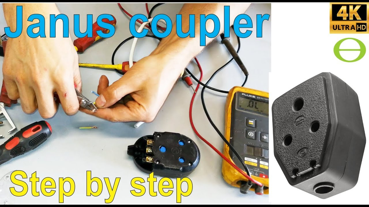 How To Wire A Janus Coupler Youtube