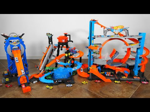 Hot Wheels Ultimate Garage VS Ultimate Gator Car Wash VS Mega Garage Most Epic Hot Wheels Toys