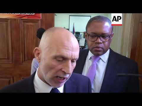 Oxfam regional director meets Haiti planning minister