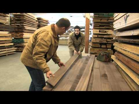 How to Buy Rough Lumber