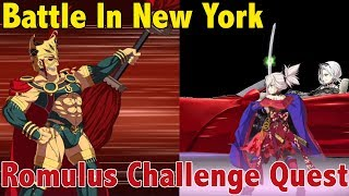 FGO [JP] - Kampf in New York : Romulus challenge quest - Musashi-setup