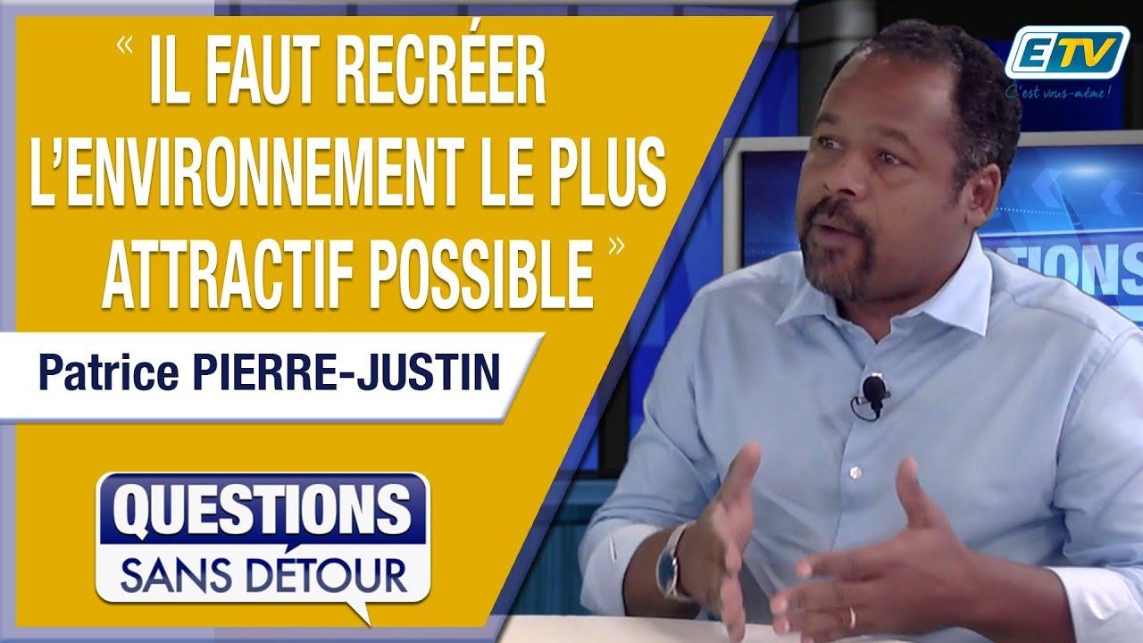 Questions Sans Détour avec Patrice PIERRE-JUSTIN