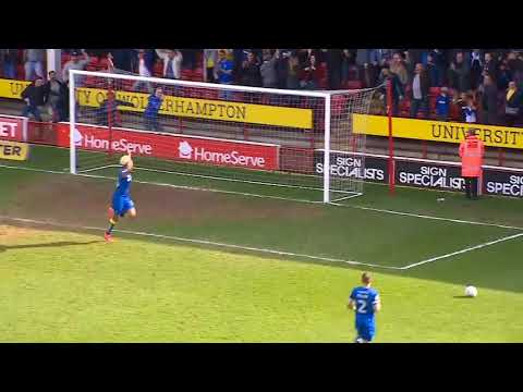 George and Lyle linkup for League 1 Goal of the weekend