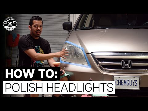 How To Restore Old, Hazy Headlight Lenses! - Chemical Guys