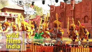 'Raut Nacha', a folk dance by 'Yadav' community of Chhattisgarh