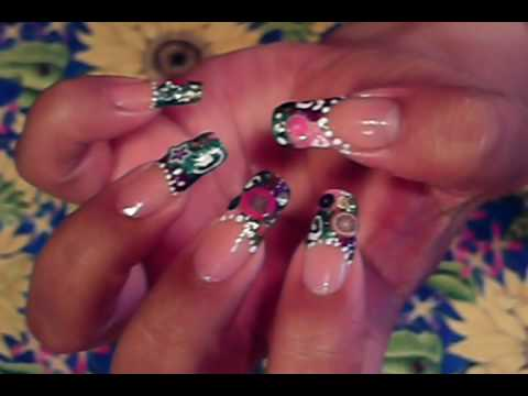 Yayits Friday Fimo Fruit Slice 3 D Nail Art Design Tutorial Youtube