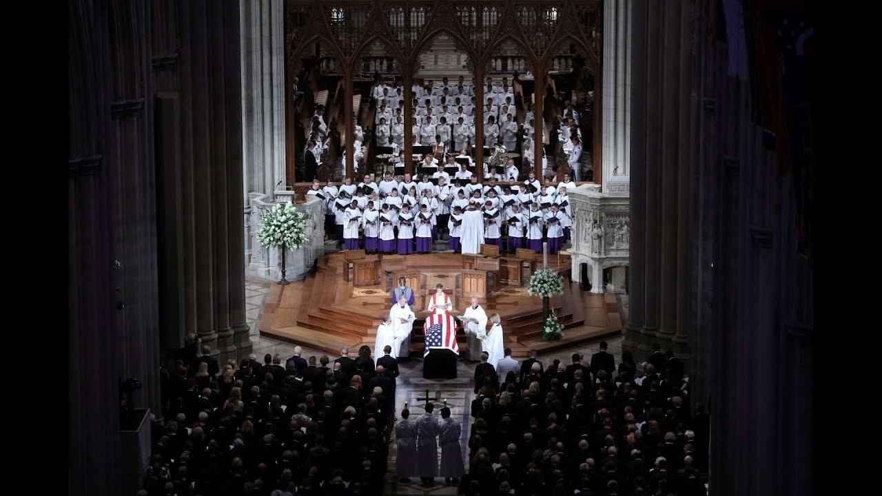 The Funeral of Senator John McCain 2018