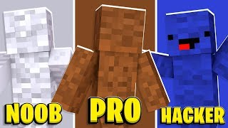 Minecraft - 4-Player Camo Prank In Minecraft Hide And Seek | JeromeASF