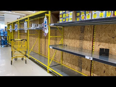 Grocery shopping on Montreal's West Island during coronavirus crisis