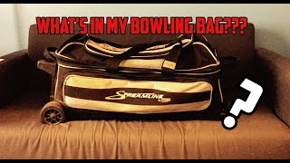 What's in my Bowling Bag? | Bowling Balls + Gear