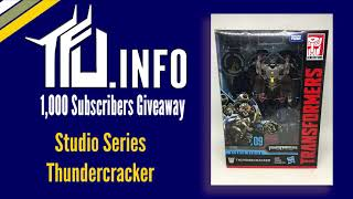 Win a Studio Series Thundercracker!