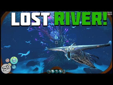 GHOST Leviathan Sighting ! Lost River Exploration, Seamoth Upgrades and More Subnautica Z1 Gaming