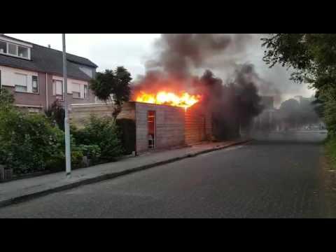 Schuurbrand Heerenveen